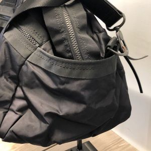 lululemon athletica Bags - Lululemon black nylon bag, 70989